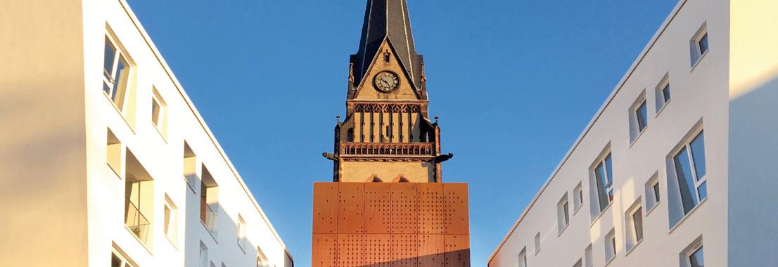 Wohnen und Arbeiten an der Christuskirche