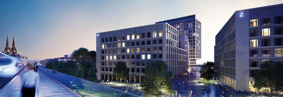 Zurich Gruppe Deutschland wird Ankermieter der MesseCity