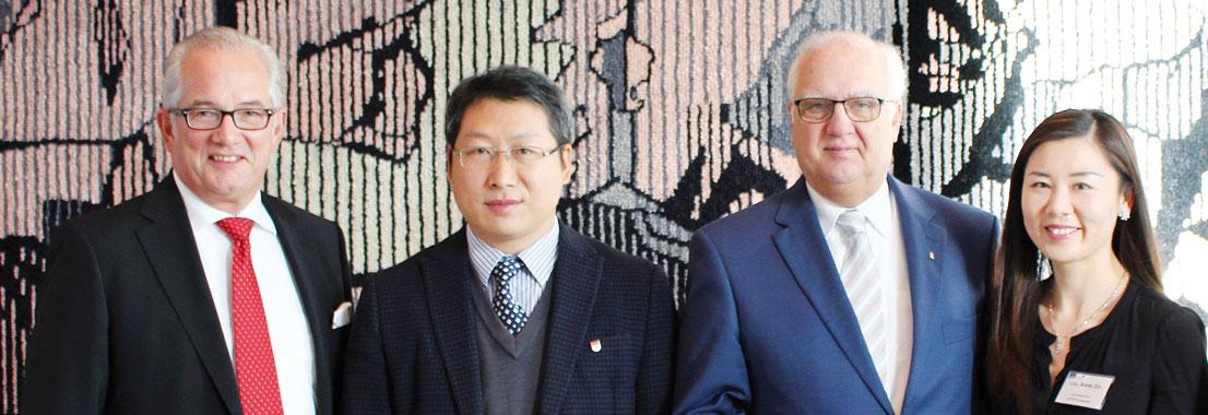 Köln und Huizhou rücken näher zusammen