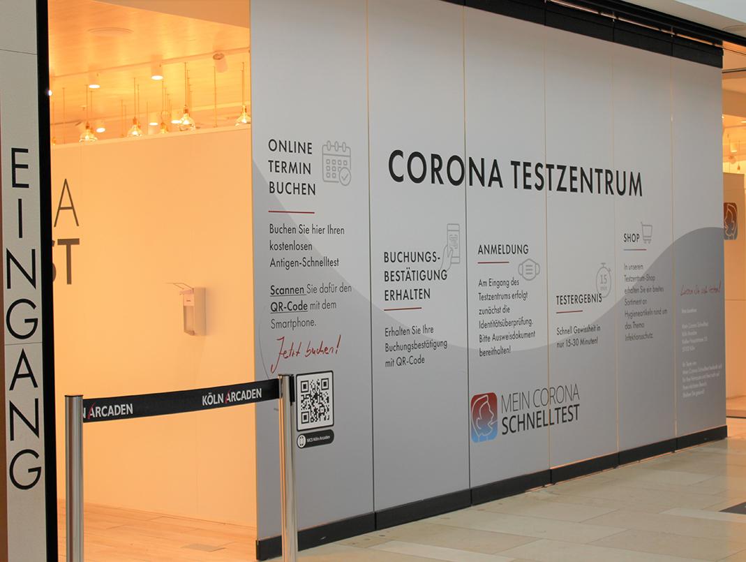 Corona Testzentrum Köln Arcaden